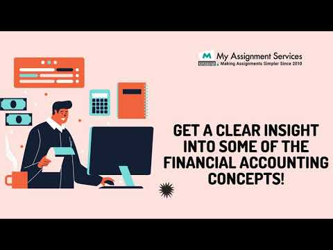 Get a clear insight into some of the financial accounting concepts!