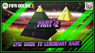 1v1 Legendary Rank Formation, Strategies, Tips and Tricks Part 2 - FIFA ONLINE 3 (ENGLISH)