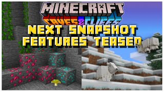 NEXT 1.17 Snapshot Features TEASED By Mojang | Minecraft 1.17 Caves & Cliffs Update