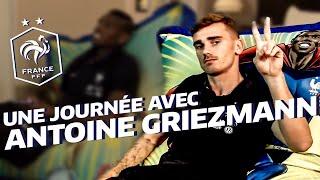 Une journée avec Antoine Griezmann à Clairefontaine, Equipe de France, Euro 2016 I FFF 2016