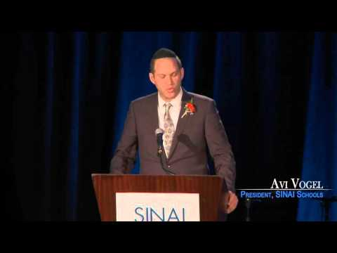 Avi Vogel, President of SINAI Schools, Closing Remarks-SINAI Dinner 2016