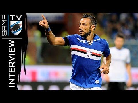 Sampdoria-Atalanta, Quagliarella: «Possiamo solo migliorare»