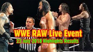 Roman Reigns और Seth Rollins की अपने दुश्मनों पर शानदार जीत । WWE RAW Live Event, Lexington