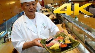 Tokyo Best Sushi / The art of Sushi making - 寿司 - すし - 4K Ultra HD
