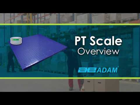 video PT 310 Platform Scale with GK M Indicator (3000kg Capacity | 100cm x 100cm Platform Size)