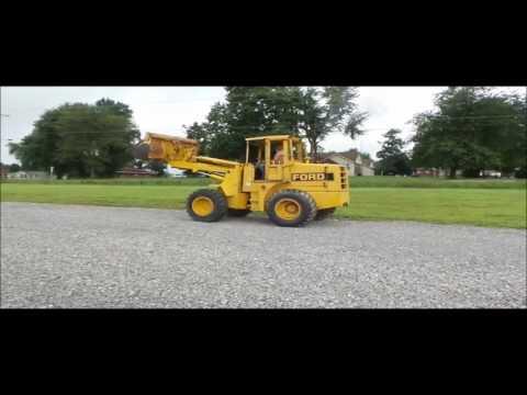 Ford A-62 wheel loader for sale | no-reserve Internet auction September 21, 2016