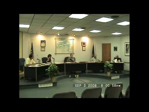 Rouses Point Village Board Meeting  9-2-08