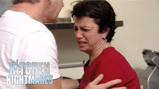 Owner Refuses To Take Criticism & Bursts Into Tears | Kitchen Nightmares
