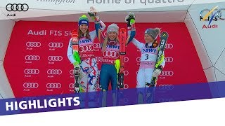Highlights | Shiffrin reigns supreme in Slalom at Killington | FIS Alpine