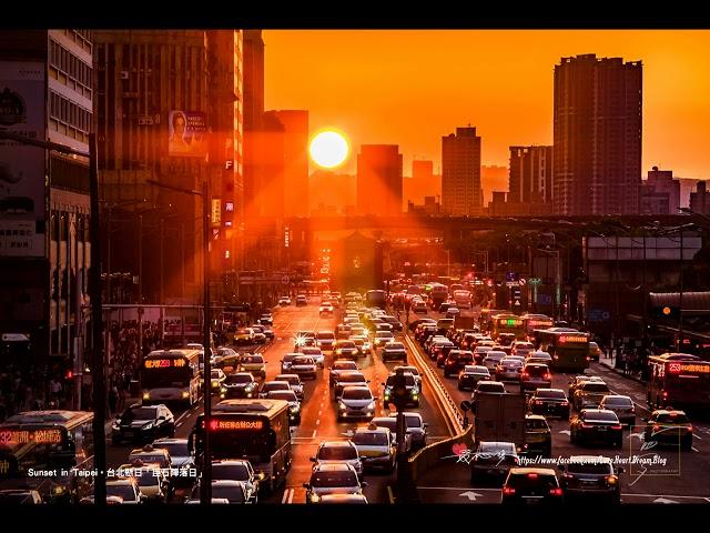 想要在2021年拍到台北懸日、高雄懸日? 這篇教你如何用太陽方位角推算拍攝日期!