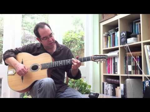 Gypsy Jazz Rhythm Guitar Lesson (La Pompe)