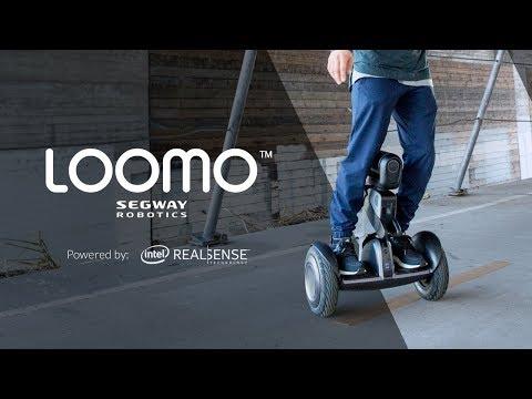 Meet Loomo: Your Mini Transporter Meets Robot Sidekick
