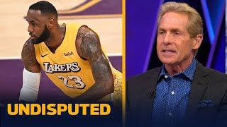 LeBron James' groin injury is 'pure baloney' — Skip on Lakers loss vs Clippers | NBA | UNDISPUTED