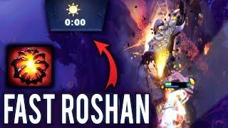 OMG! 0 Min Roshan 1 Level URSA MOST Craziest Strat in Dota 2 History