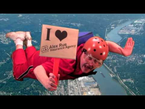 Sky Diving - What would you do if you saved money on your California insurance?