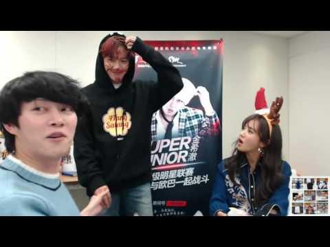 161115 SM Super Celeb League (LOL) Heechul Stream Baekhyun Cut (Guest SNSD Yuri)