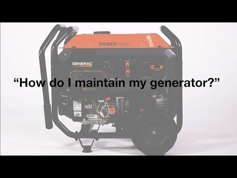 Generac Power Systems - Portable Generator FAQs