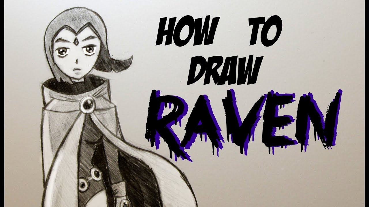 How To Draw Raven Video