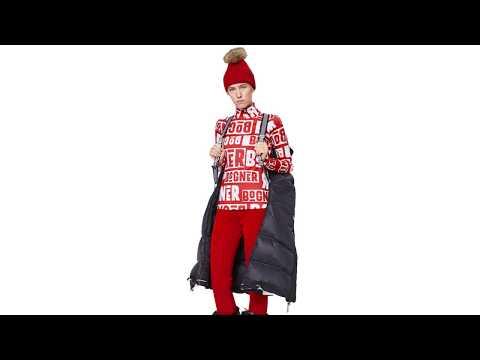 Bogner Beline1 Womens Baselayer Top in Red