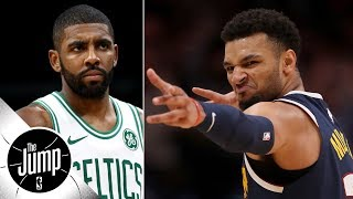 Should Kyrie Irving still feel salty about Jamal Murray going for 50?   The Jump