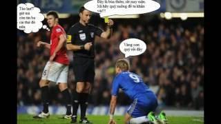 những hình ảnh hài hước và bá đạo troll bóng đá