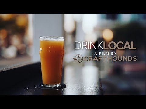 Learn how you can support your local, independent breweries at www.crafthounds.com/drinklocal