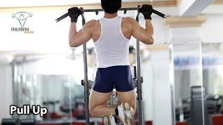 Pull Up Hít xà đơn đúng cách trong thể hình tập lưng xô hiệu quả