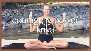 Kundalini Yoga Set: Third Chakra For Courage & Power | KIMILLA