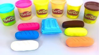 Making  Ice Cream out of Play Doh and Learn Numbers | Sweet Box Surprise