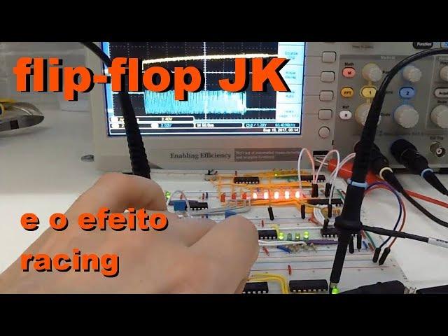 FLIP-FLOP JK E O EFEITO RACING | Conheça Eletrônica! #042