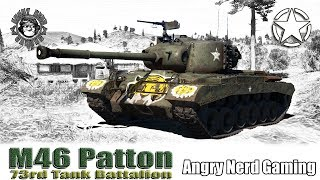 War Thunder: M46 Patton, 73rd Tank Battalion, American, Tier-4, Premium Medium Tank
