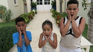 Home Alone on Vacation! Kids Pretend Play