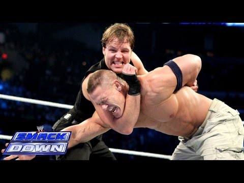 Cena & CM Punk Vs. The Shield - 2-on-3 Handicap Match: SmackDown, Dec. 20, 2013 - Smashpipe Sports