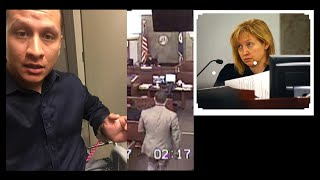 Crazy Vegas Judge Loses it when he won't Worship Her!