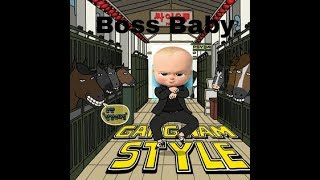 Boss baby Gangnam style version animation dubbed