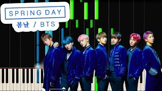 BTS - Spring Day (Piano Cover)