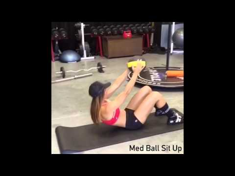 Ab Work Out with Bad Kitty® Brand Ambassador Lynn Green