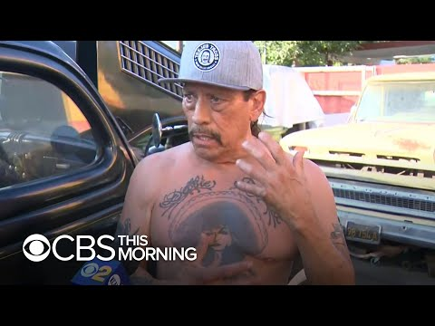 Danny Trejo hailed as hero after rescuing boy from car wreck