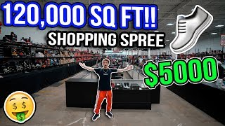 Shopping Spree in the World's Biggest Sneaker Store! (120,000 SQ FT!)