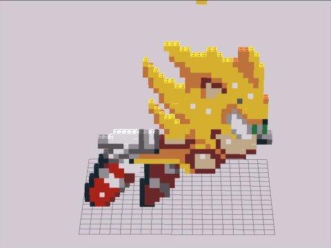 Lego Super Sonic Youtube