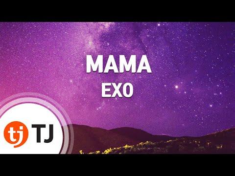 MAMA_EXO 엑소_TJ노래방 (Karaoke/lyrics/romanization/KOREAN)