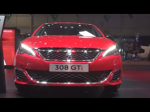 Peugeot 308 GTi THP 270 Start&Stop (2016) Exterior and Interior in 3D