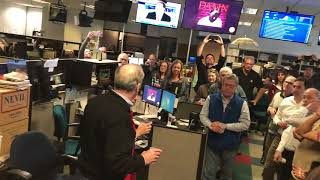 Press Democrat publisher speaks after newspaper wins Pulitzer Prize