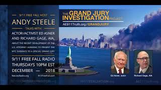 9/11 Leaders Celebrate a Breakthrough: Ed Asner and Richard Gage on the Grand Jury Investigation