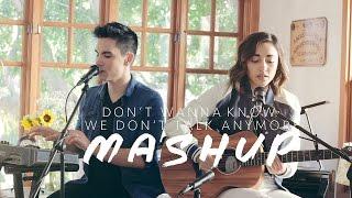 Don't Wanna Know/We Don't Talk Anymore MASHUP - Sam Tsui & Alex G | Sam Tsui