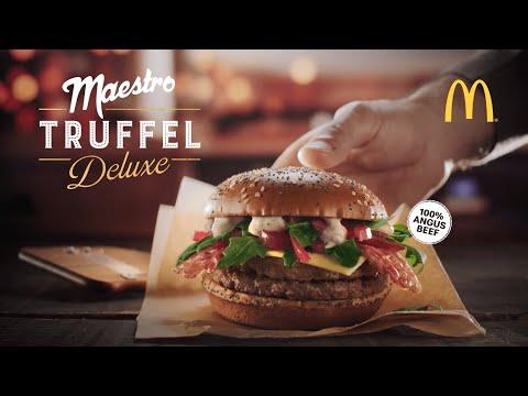 MCDONALDS De Maestro Truffel Deluxe