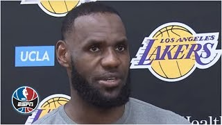 My playoff intensity level 'has been activated' - LeBron James | NBA on ESPN
