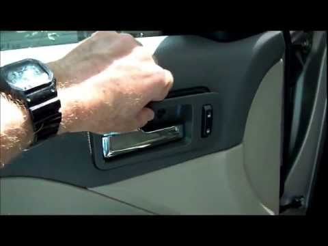 Replacing broken inside door handle on 2007 ford fusion - Ford fusion interior door handle replacement ...