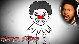 IF YOU DON'T LIKE CLOWNS.. DON'T WATCH | Reacting To Scary Horror Stories (SSS)