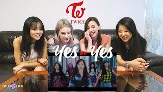 [MV REACTION] YES OR YES - TWICE   P4pero Dance